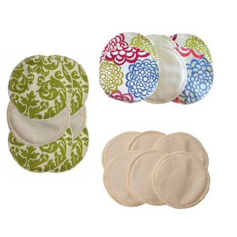 Itzy Ritzy Glitzy Gals™ Washable & Reusable Nursing Pads Set (Available in 3 Styles)