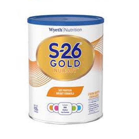 Wyeth - S-26 Nursoy Gold Stage 1 - 900 g (Singapore) 0-6 months