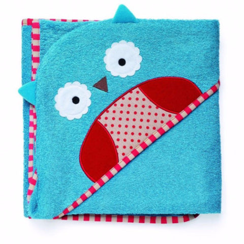 Skip Hop - Zoo Hooded Towel - Owl