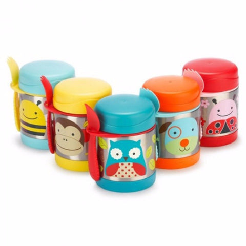 Skip Hop - Zoo Insulated Food Jar (Available in 8 Designs)