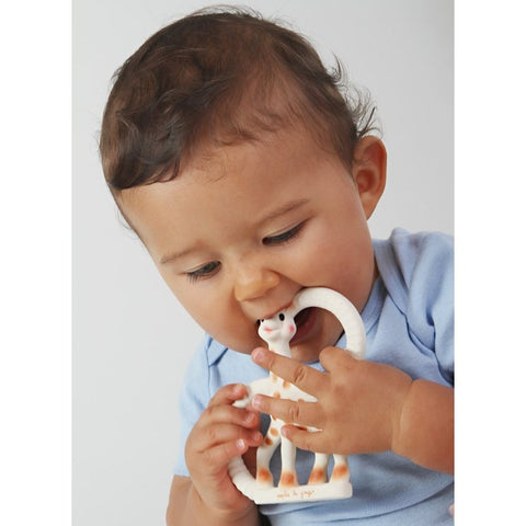 Sophie la girafe® - So'pure Twin Teething Ring - Soft & Very Soft Version