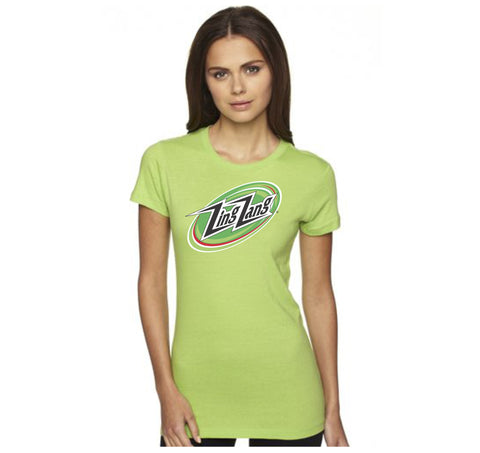 Women's Green Logo T-Shirt