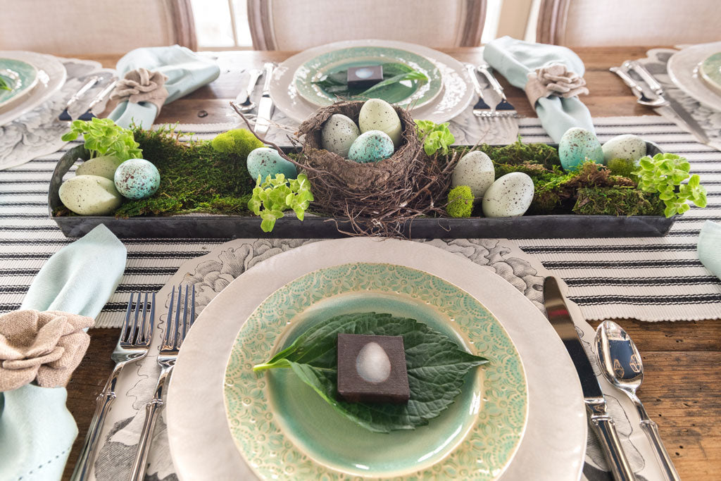 Easter Table Setting featured in Parade Magazine