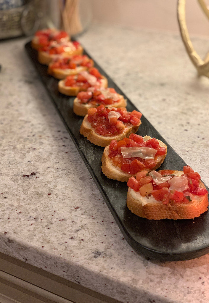 A simple and perfect Bruschetta!