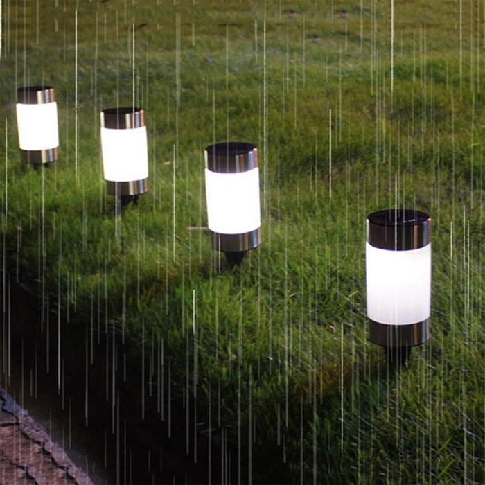 Ultra Bright Solar Garden Light Outdoor Lamp
