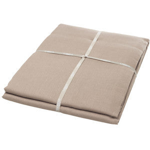 Heritage Fitted Sheet King Flax