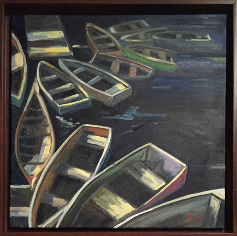 Dinghies and Dories by Glen Wielgus
