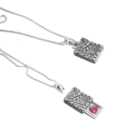 Amor Pendant | Sterling Silver | Mens Collection
