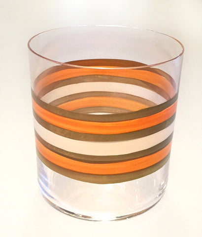 Rings Orange/Gold Small Tumbler