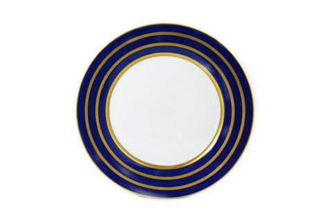 "Rings Navy/Gold 12"" Charger"