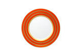 "Rings Orange/Gold 12"" Charger"