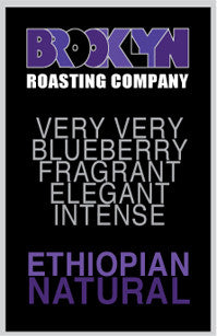 Brooklyn Coffee - Ethiopian 12Oz