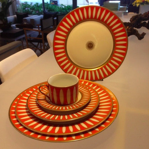 St. Moritz Orange 5 pc. Set