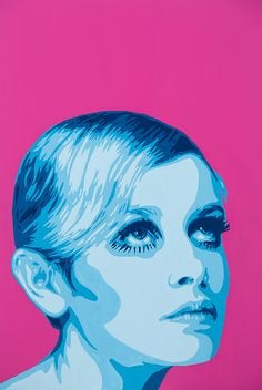 "Twiggy by Jeremy Penn 38"" x 26"""