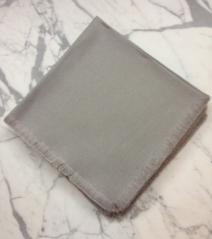"22"" x 22"" Low shrinkage Linen Napkin - Light Gray"