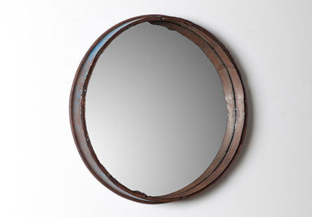 Jut Oil Drum Mirror