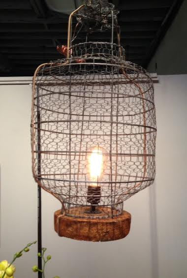 Antique Lantern Lamp by MBTL