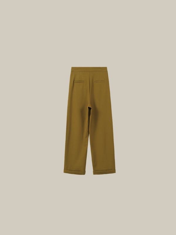 High Waist Casual Trousers