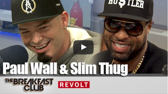Paul Wall & Slim Thug at The Breakfast Club