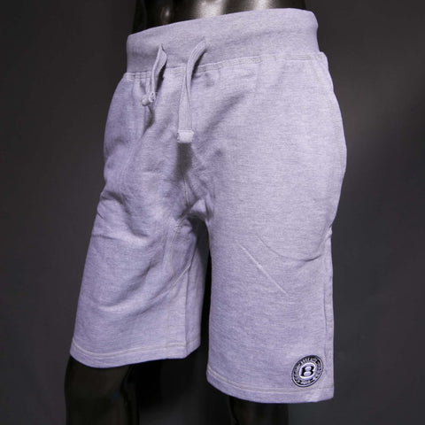 "BossLife ""Circle B"" Shorts - Grey/Black/White"