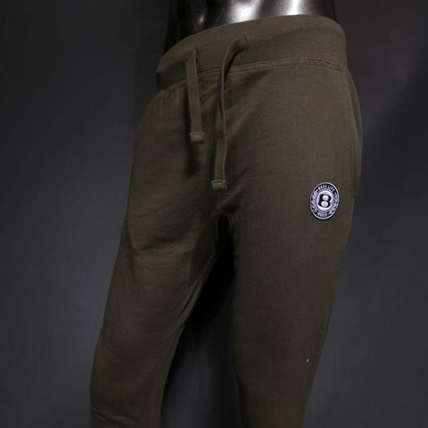 "BossLife ""Circle B' Joggers - Olive/Patch"