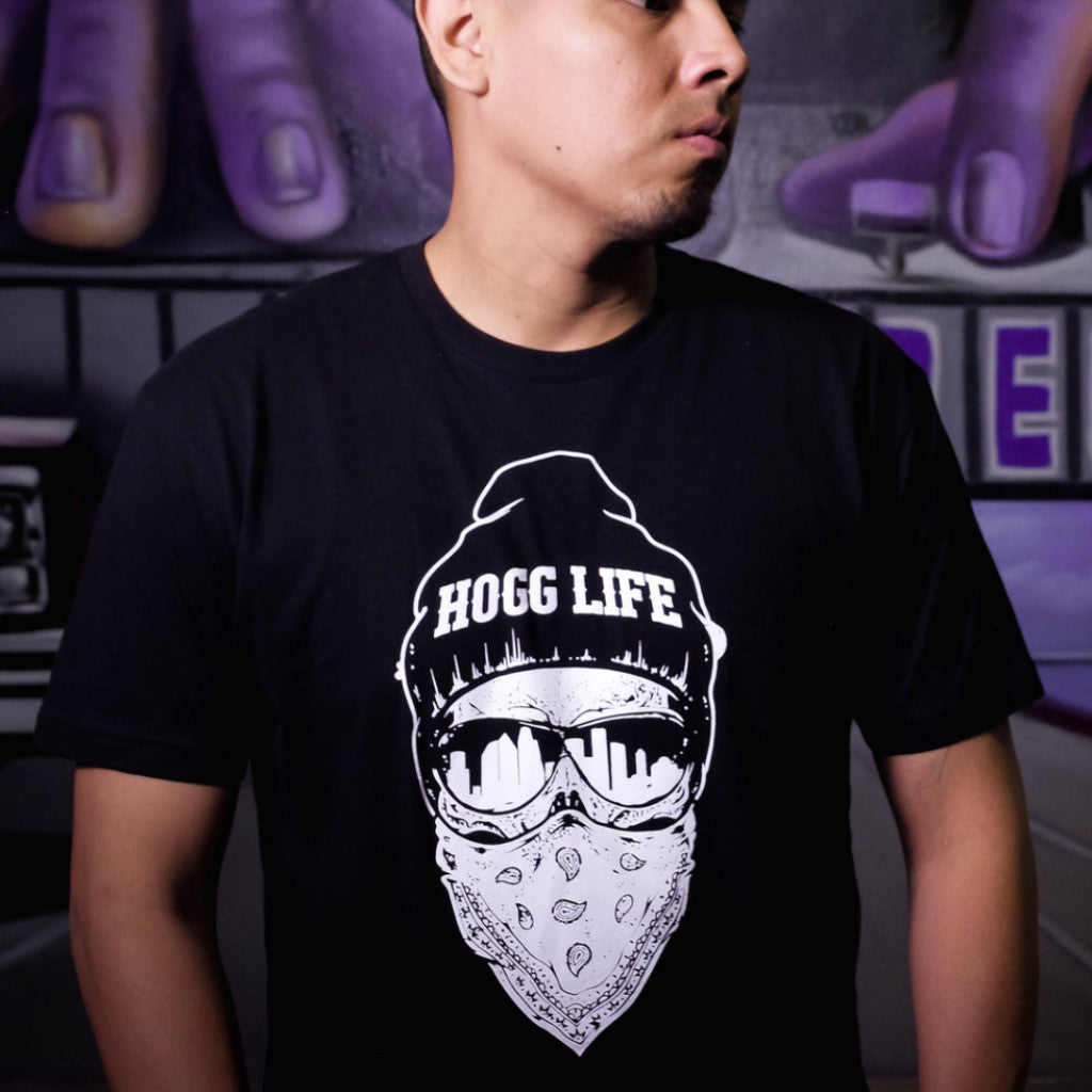 "HoggLife ""Bandana"" Tee - Black/White"