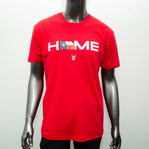 "HoggLife ""Home"" Tee - Red/Multi"
