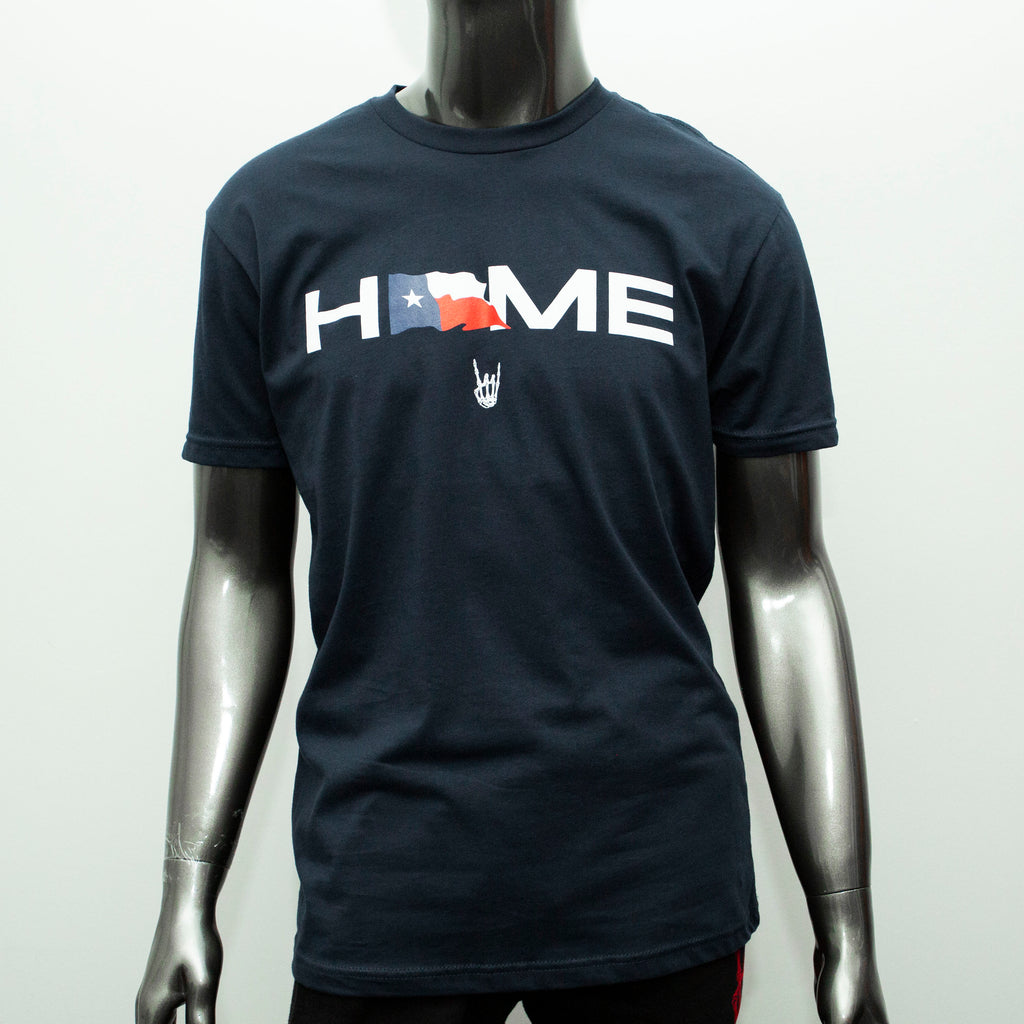 "HoggLife ""Home"" Tee - Navy/Multi"