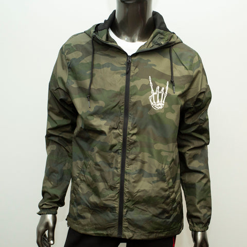 HoggLife Windbreaker - Camo/Off White