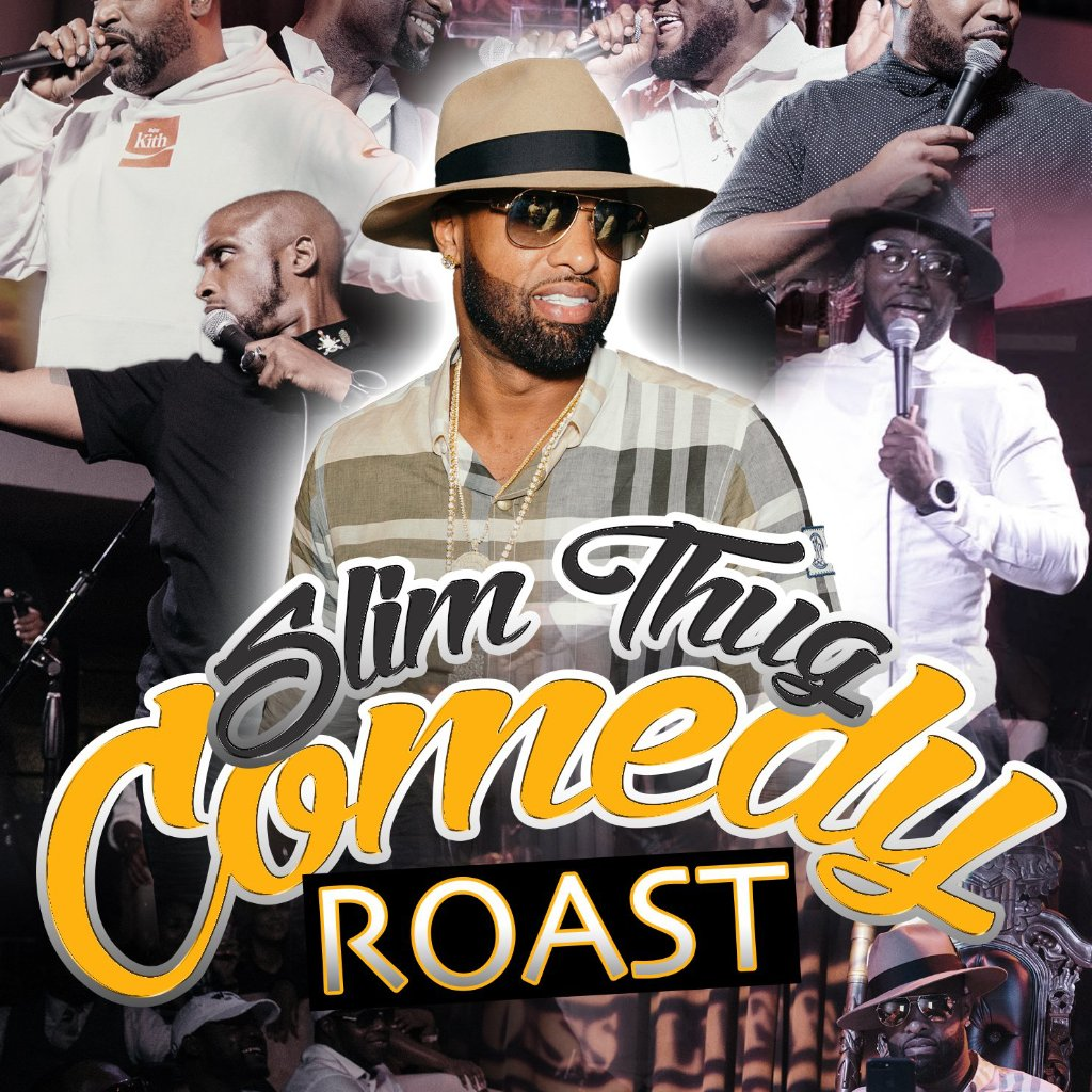 Slim Thug Comedy Roast DVD