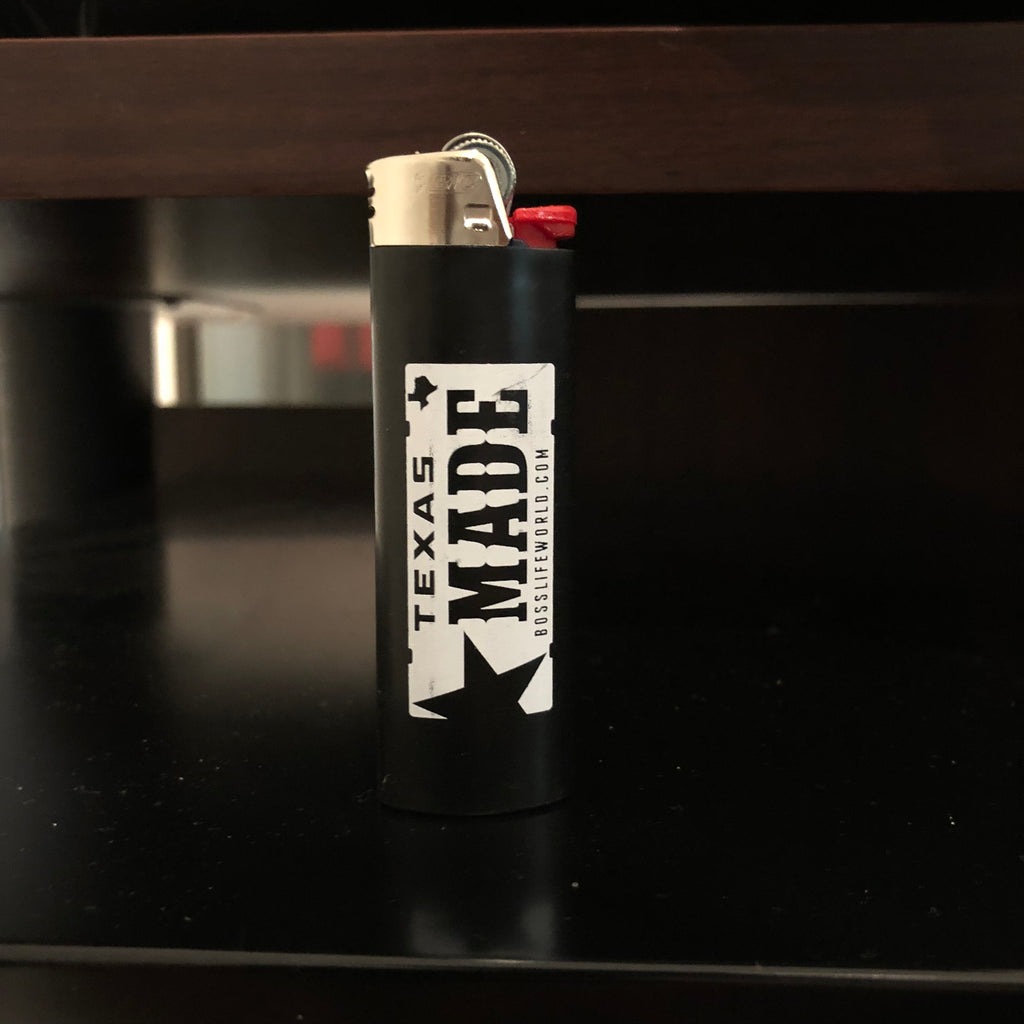 "HoggLife ""Texas Made"" Lighter - Black"