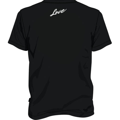 "BossLife ""Love"" Tee - Black/Red"