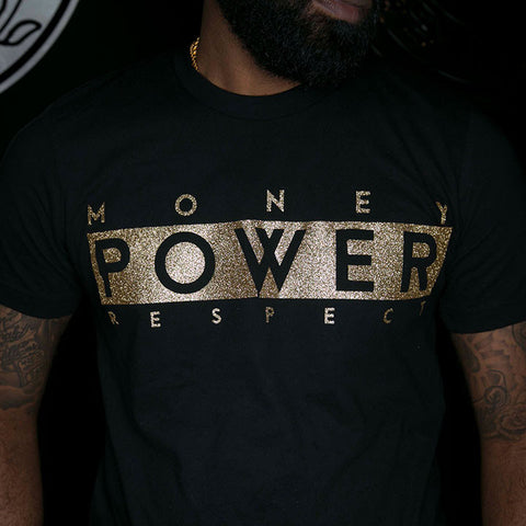 "BossLife ""M.P.R."" Tee - Black/Gold"