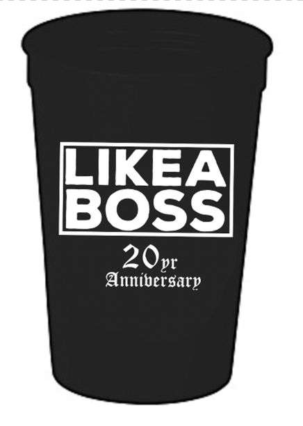 "Slim Thug ""Like A Boss""  16oz Cup"