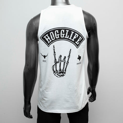 "HoggLife ""HoggLife"" Tank Top - White/Black"