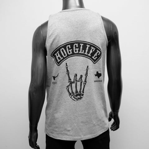 "HoggLife ""HoggLife"" Tank Top - Grey/Black"