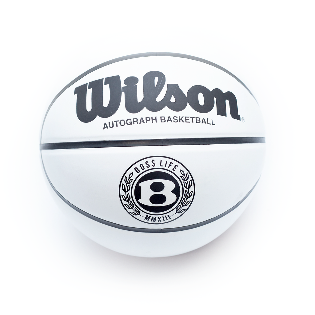 "BossLife ""Circle B"" Basketball - Brown/Black/White"