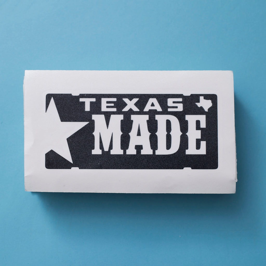 "HoggLife ""Texas Made"" Decal"