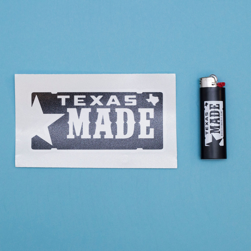"HoggLife ""Texas Made"" Lighter & Decal"
