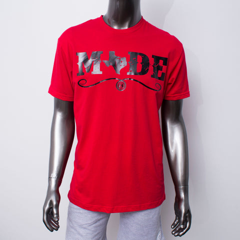 "HoggLife ""Texas Made v2""  Tee - Red/Black"