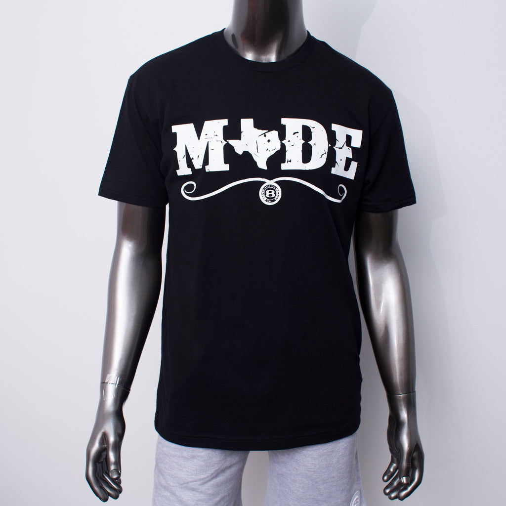 "HoggLife ""Made""  Tee - Black/White"