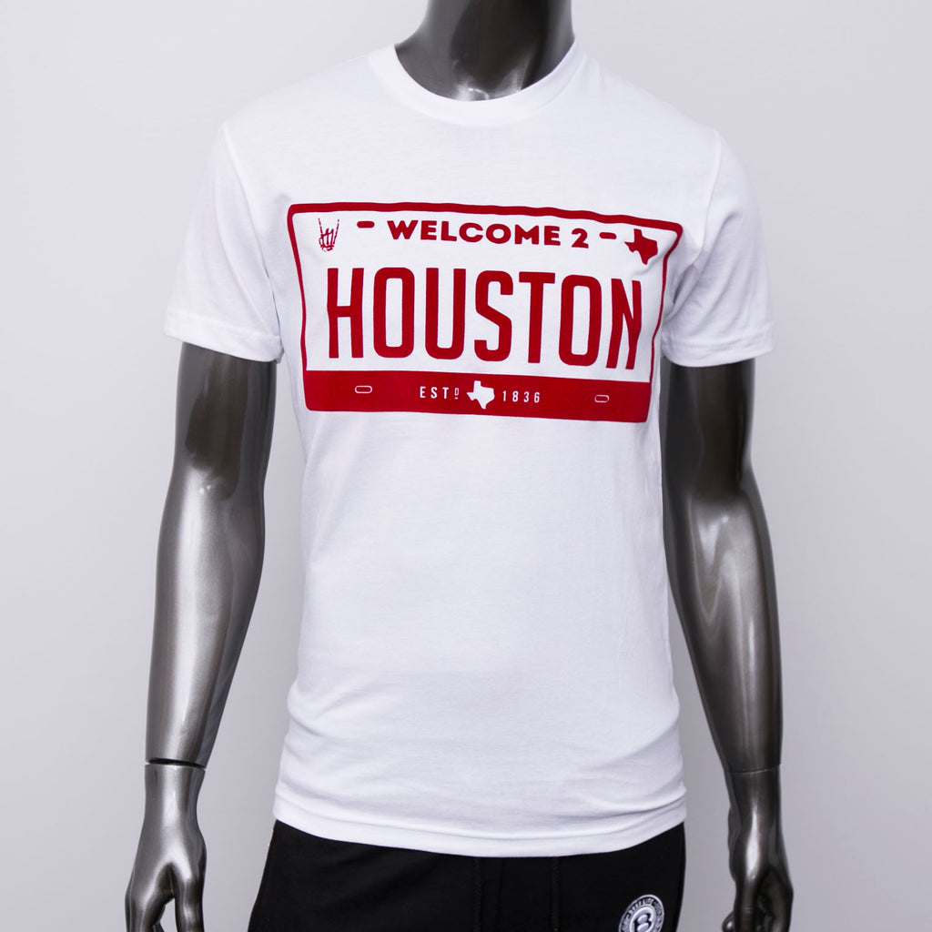 "HoggLife ""Welcome 2 Houston"" Tee - White/Red"