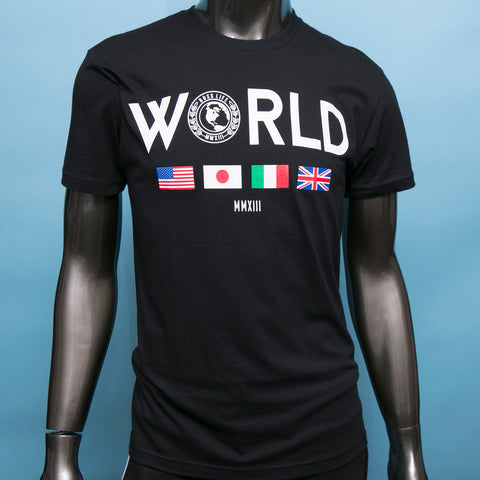 "BossLife ""World Wide"" Tee - Black"
