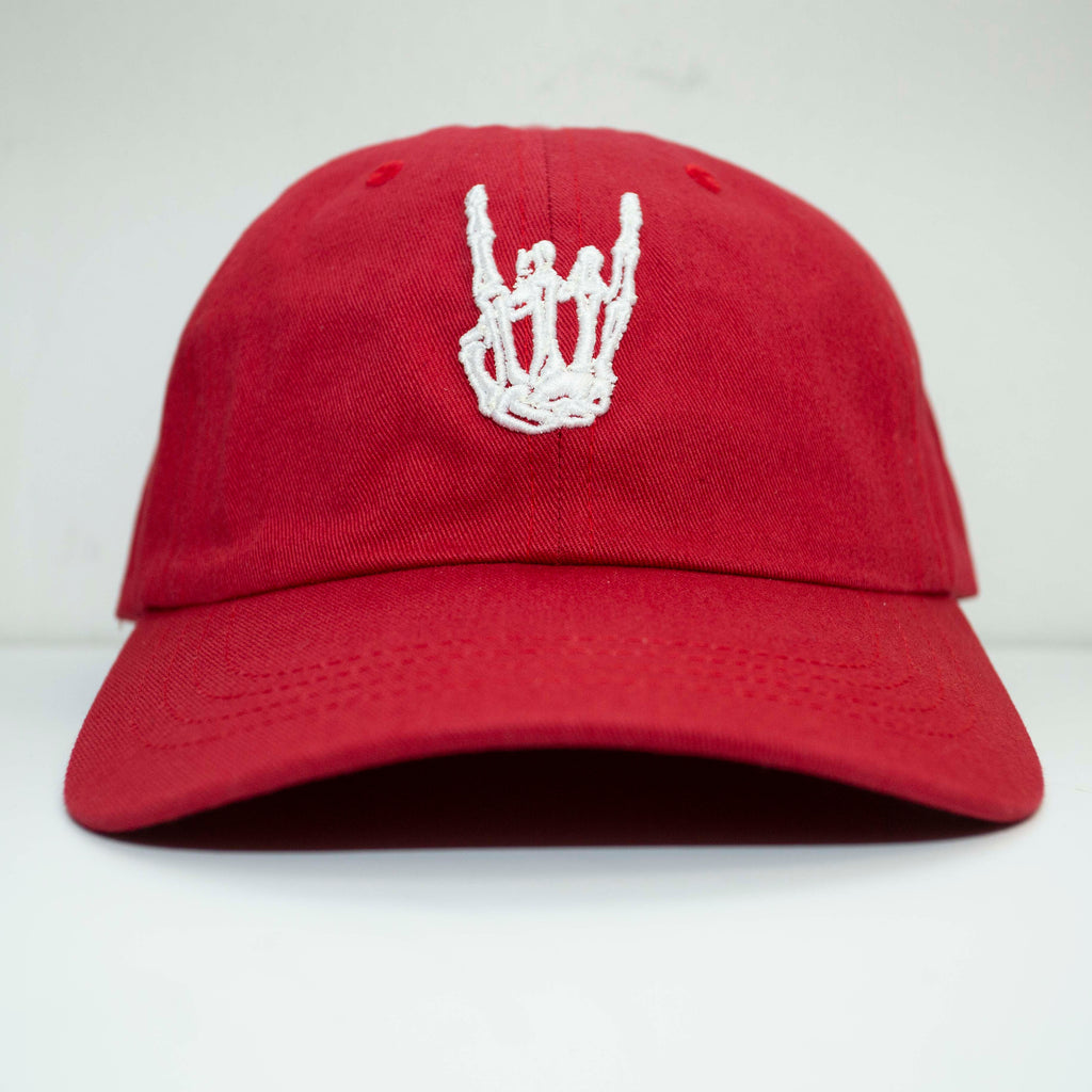 HoggLife Dad Hat - Red/White