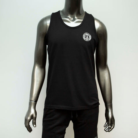 "BossLife ""Circle B"" Tank - Black/White"