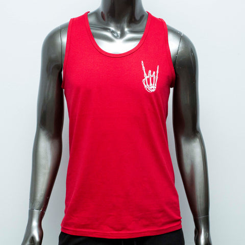"HoggLife ""HoggLife"" Tank Top - Red/White"