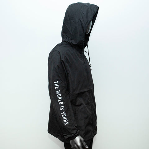 "BossLife ""The World Is Yours"" Windbreaker - Black/3M"