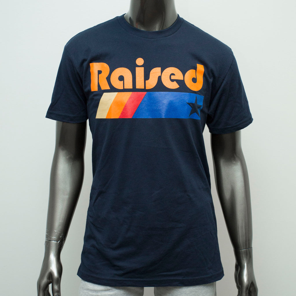 "HoggLife ""Raised"" Tee - Navy"