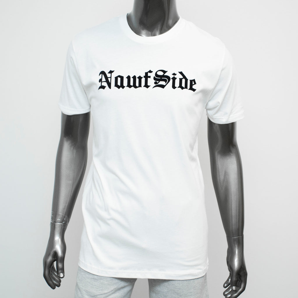 "HoggLife ""NawfSide"" Tee - White/Black"