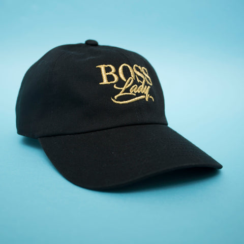 "BossLife ""BossLady"" Dad Hat - Black"